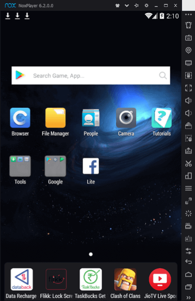 Nox android emulator download nox player app for pc mac nox features stopboris Gallery
